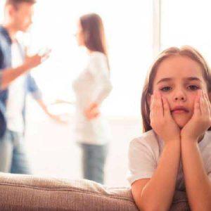 ¿Puede dar problemas una separación con hijos sin estar casado?
